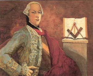 Personajes del Rito Francés, Marqués de Gages,